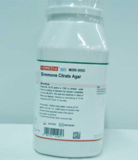 Simmons Citrate Agar M099-500G HIMEDIA