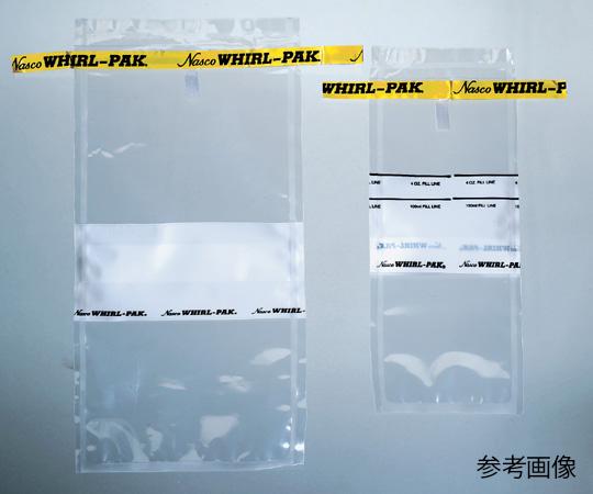 Túi nhựa xoáy 532 mL 115 × 230 mm bề mặt viết B01065 WA 1-1749-02 ASONE