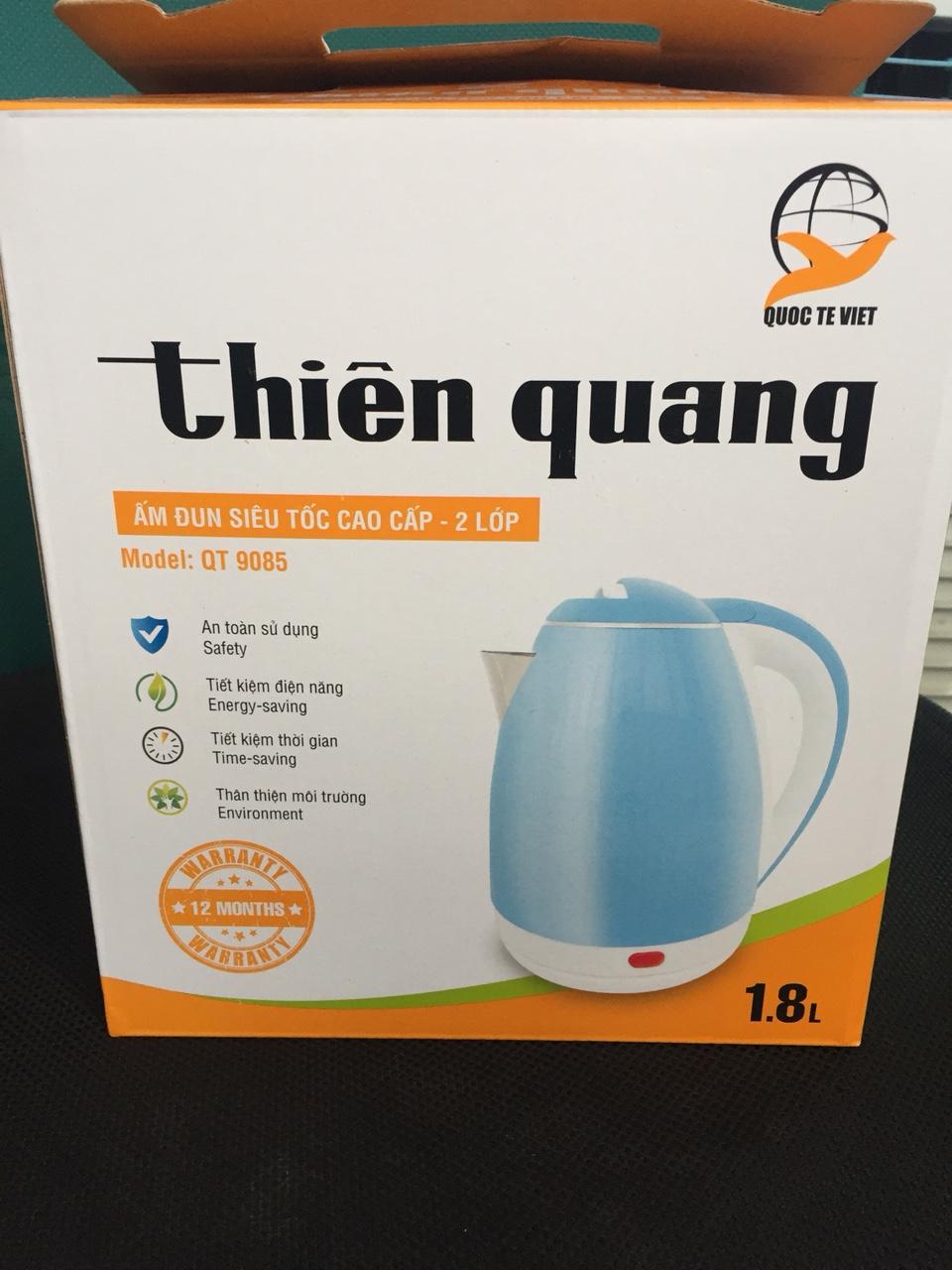 Ấm đun nước siêu tốc cao cấp QT-9085 ThienQuang