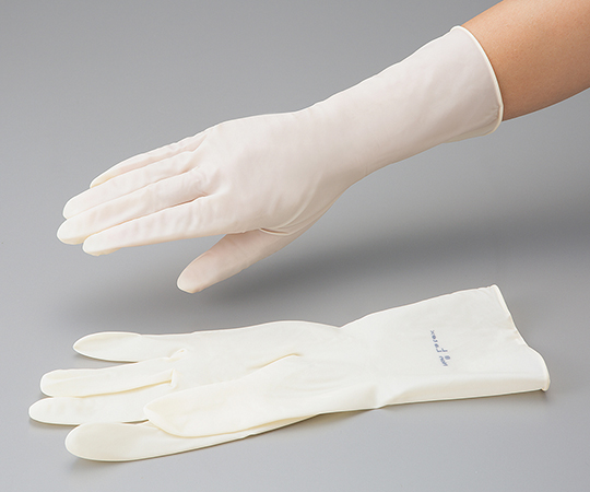 Bao tay cao su polyisoprene size S 3-6437-03 ASONE