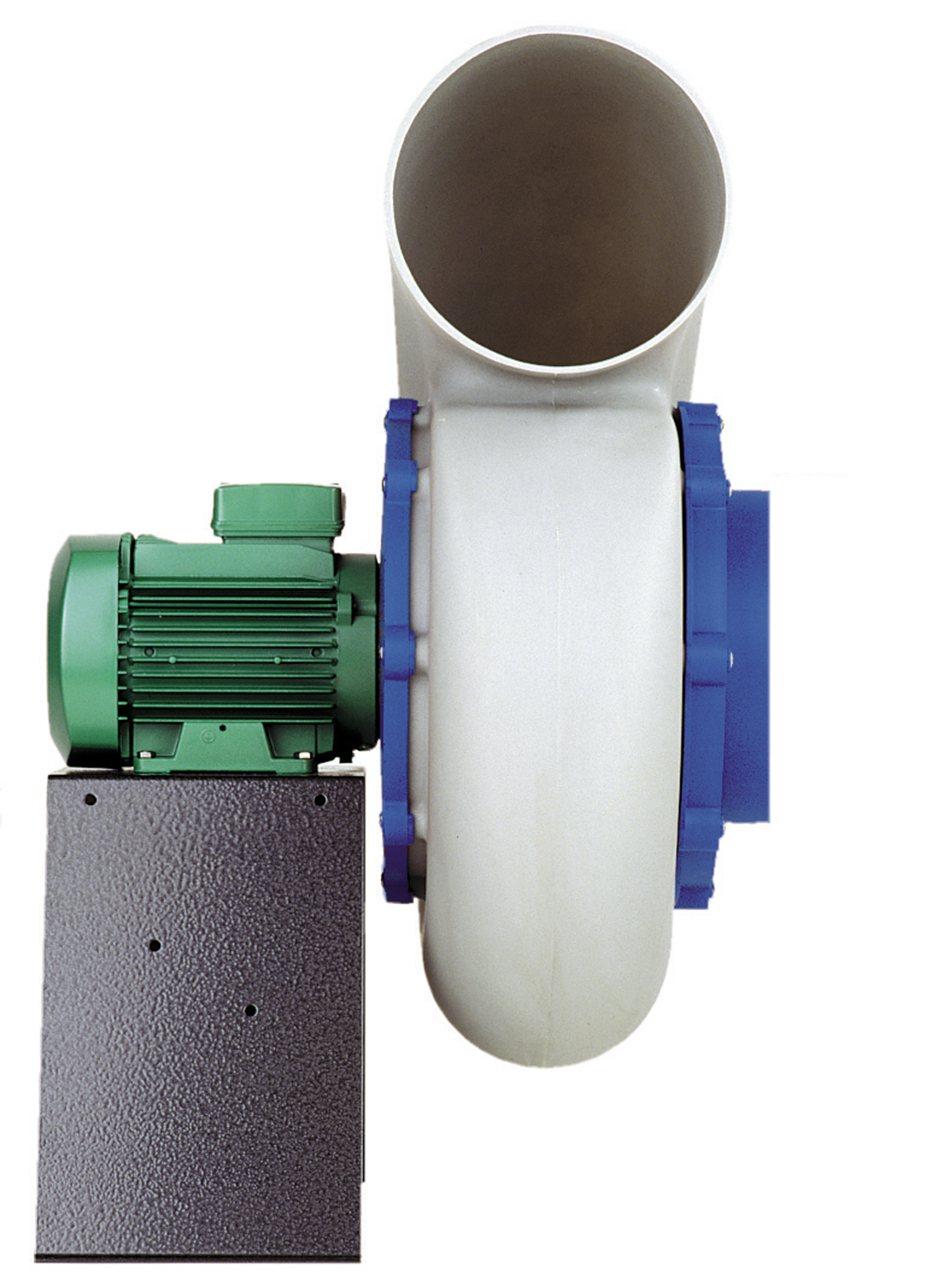 Bộ động cơ và quạt hút cho tủ hút khí độc EQR/FC-FAN-PP030 Esco
