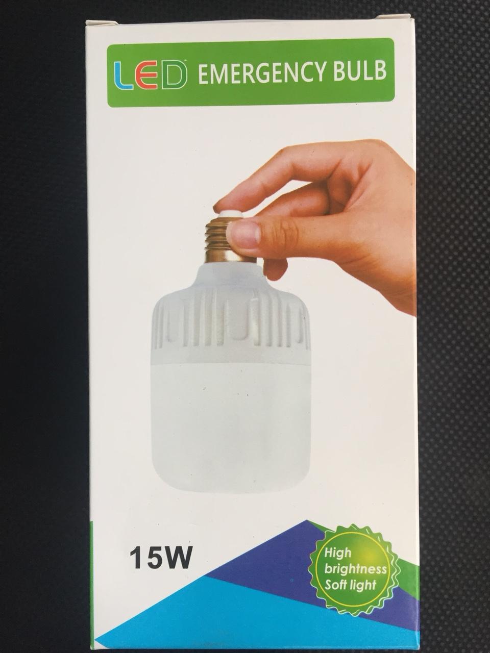 Bóng đèn tích điện 15w TGCN-37155 VietnamElectricity