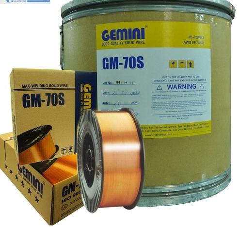 Dây hàn CO2 1.0mm MIG/MAG GM-70S KIMTIN