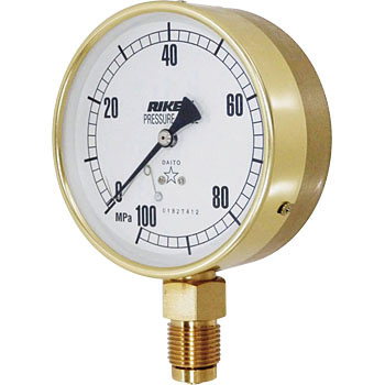 Đồng hồ đo áp suất ASG100-250M-U RIKEN-KIKI