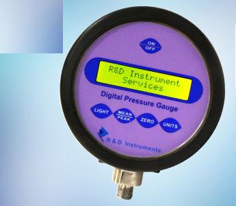 Đồng hồ đo áp suất điện tử 0-700 bar DPG - 700 R&D