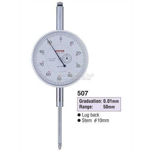 Đồng hồ so 50mm/0.01mm indicator 507 PEACOCK