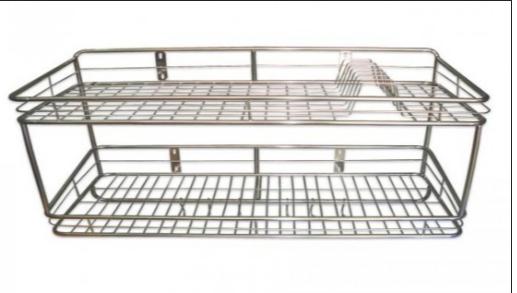 Giá để chén bát treo tường 2 tầng TGCN-37264 InoxViet