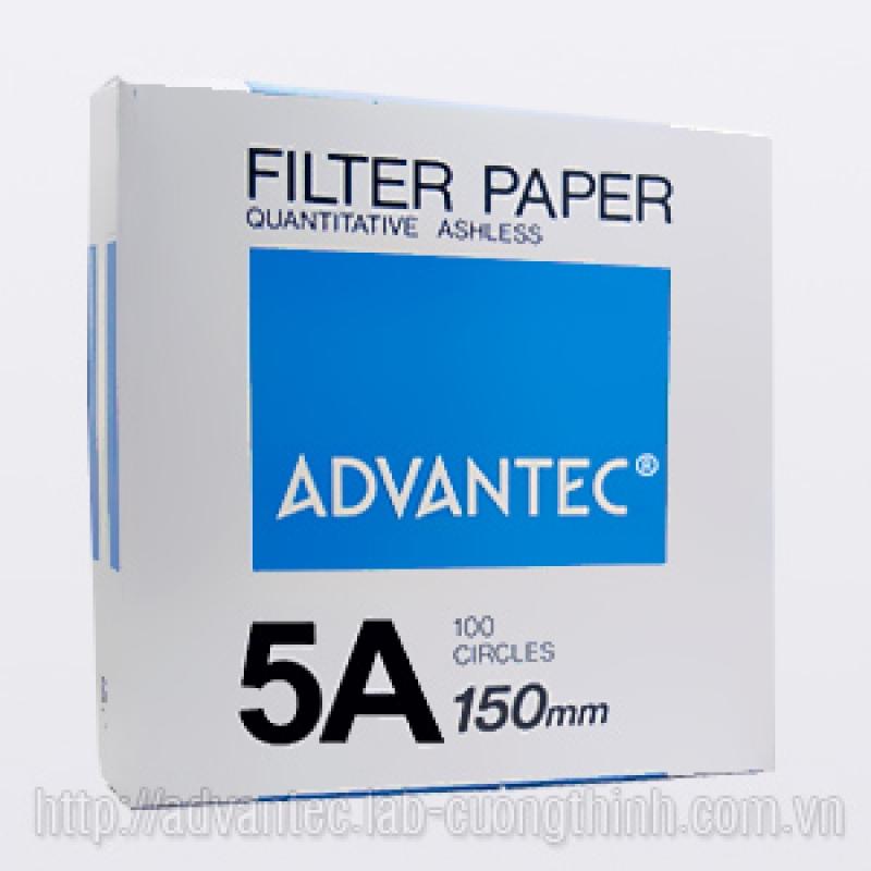 Giấy lọc định tính số 5A 01511150 Advantec