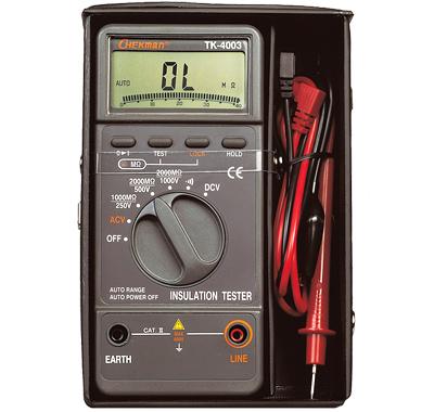 Thiết bị kiểm tra điện trở cách điện TK-4004 CHEKMAN