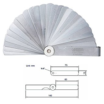 Bộ căn lá 0.04-1 mm (25 lá) 4601-25 Insize