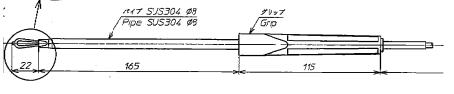 Đầu dò cho nhiệt kế điện tử PCE-701 SHINKO