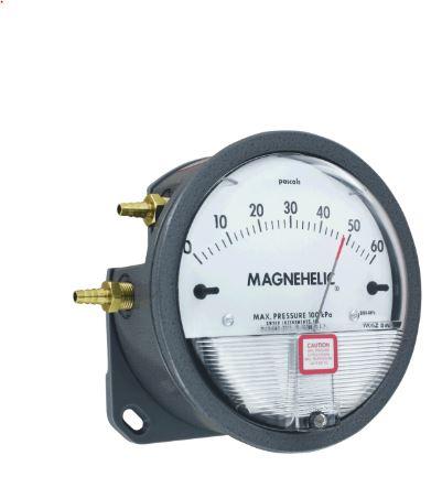 Đồng hồ đo chênh áp 2300-60Pa DWYER