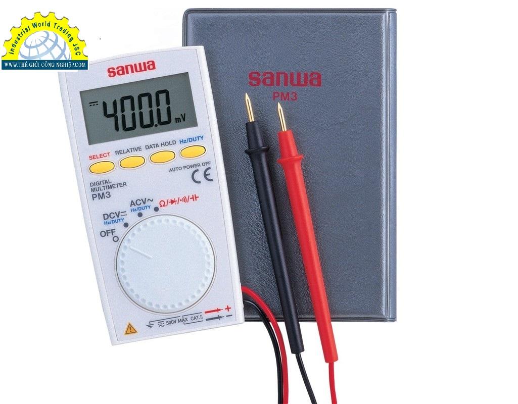 Đồng hồ vạn năng hiển thị số PM3 Sanwa