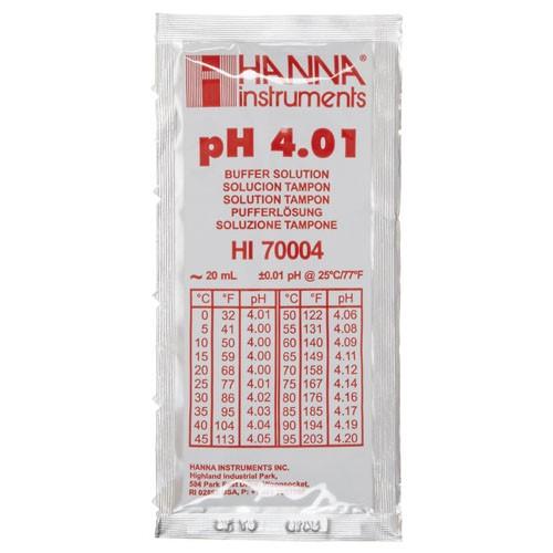 Gói dung dịch hiệu chỉnh pH 4.01 HI70004P Hanna