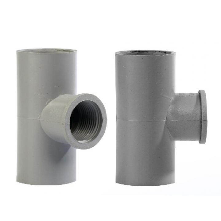 Tê ren trong 27x1/2 PVC TGCN-37832 DatHoaPlastic