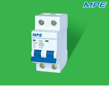 Thiết bị đóng ngắt, bảo vệ cách ly 2 pha 10A MP6-C210 MPE