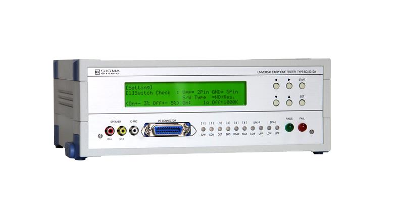 Thiết bị kiểm tra âm thanh SG-2312A Sigma-eltec