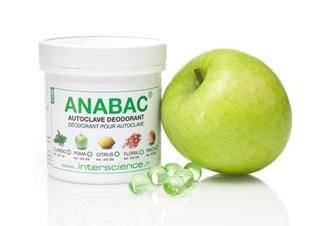 Viên khử mùi Anabac dùng cho nồi hấp tiệt trùng ( Hương chanh) 320 300 Citrus INTERSCIENCE
