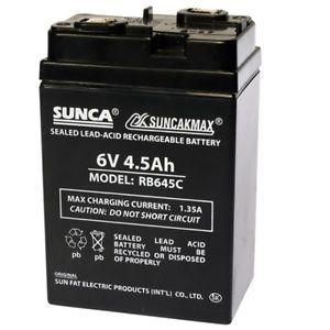 Ắc quy kín khí 6V/4.5Ah RB645C SUNCA