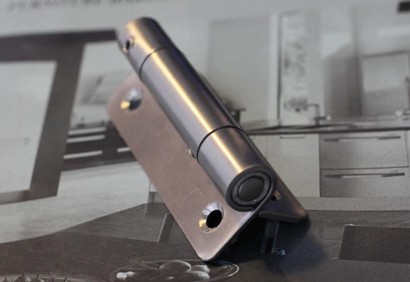 Bản lề lá inox cửa tự đóng dành cho nhà vệ sinh H0043 20x50mm VietnamSteels