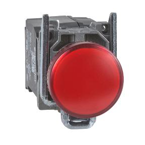 Đèn báo pha 230V- phi 22 XB4BV44 schneider-electric