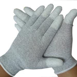 Găng tay bảo hộ bằng len màu xám TGCN-38354 VIETNAMPROTECTIONS