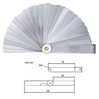 Hiệu chuẩn Bộ căn lá 0.04-1 mm (25 lá) 4601-25-CALIBRATION Insize