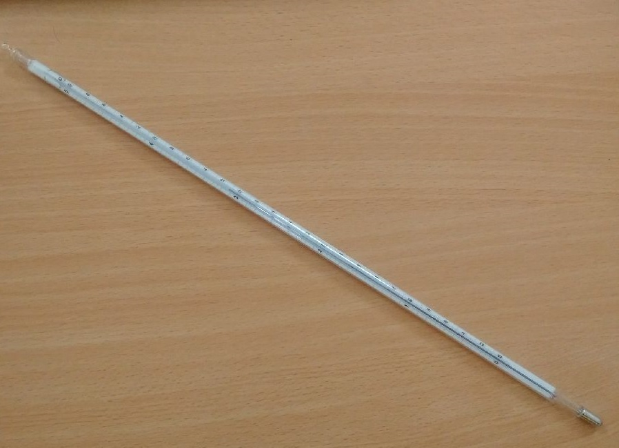 Nhiệt kế thủy ngân chuẩn DIN L25992 Amarell