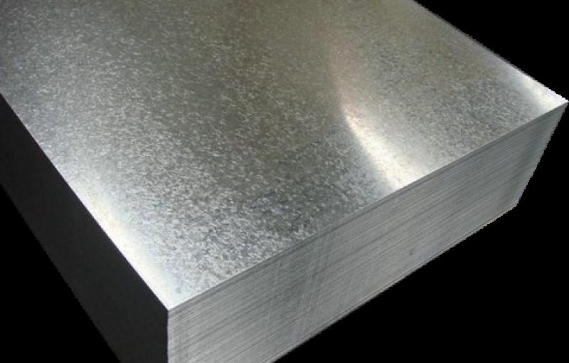 Tấm tôn mạ kẽm 500x1000mm, dày 5mm TGCN-38600 VietnamSteels