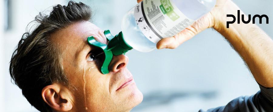Chai  rửa mắt khẩn cấp 500ml  Plum 4801 PLUM