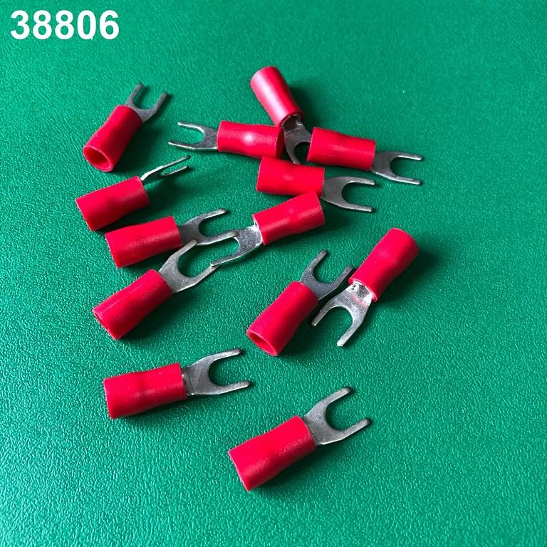 Cos chữ y chụp nhựa tiết diện 3.5  VF3.5-5R loại chỉa đỏ VietnamElectricity