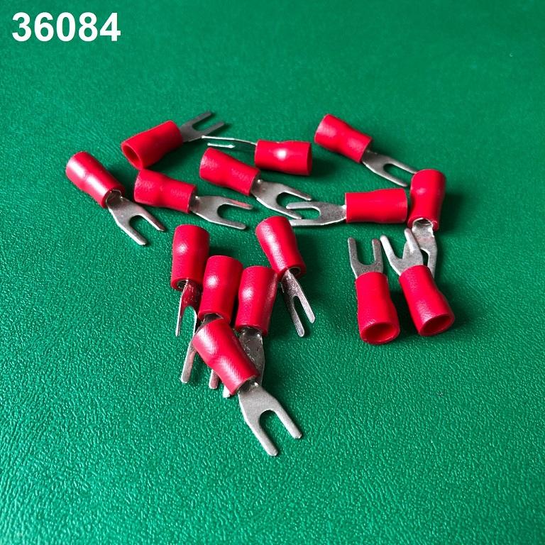 Đầu cos chỉa màu đỏ  VF2-3R ĐỎ VietnamElectricity