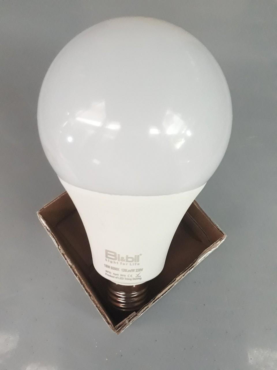 Đèn led Bulb 18W ánh sáng trắng  TGCN-38774 Bi&Bil