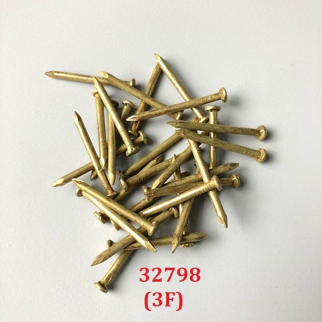 1kg Đinh thép vàng 3F (30mm) TGCN-32798 SANKY