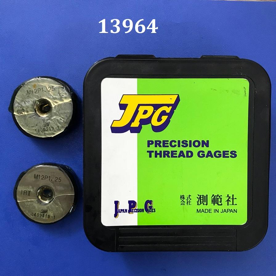 Dưỡng kiểm ren dạng vòng JIS thread ring gauge M12xP1.25 GRIR II JPG