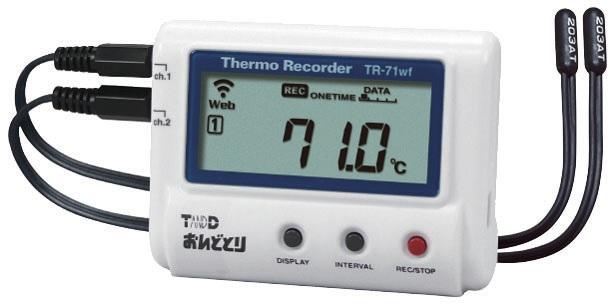 Hiệu chuẩn nhiệt ẩm kế tự ghi TR-71NW calibration TANDD