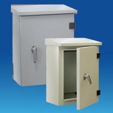 Tủ điện vỏ kim loại chống thấm nước 300x200x130mm  CK0 SINO