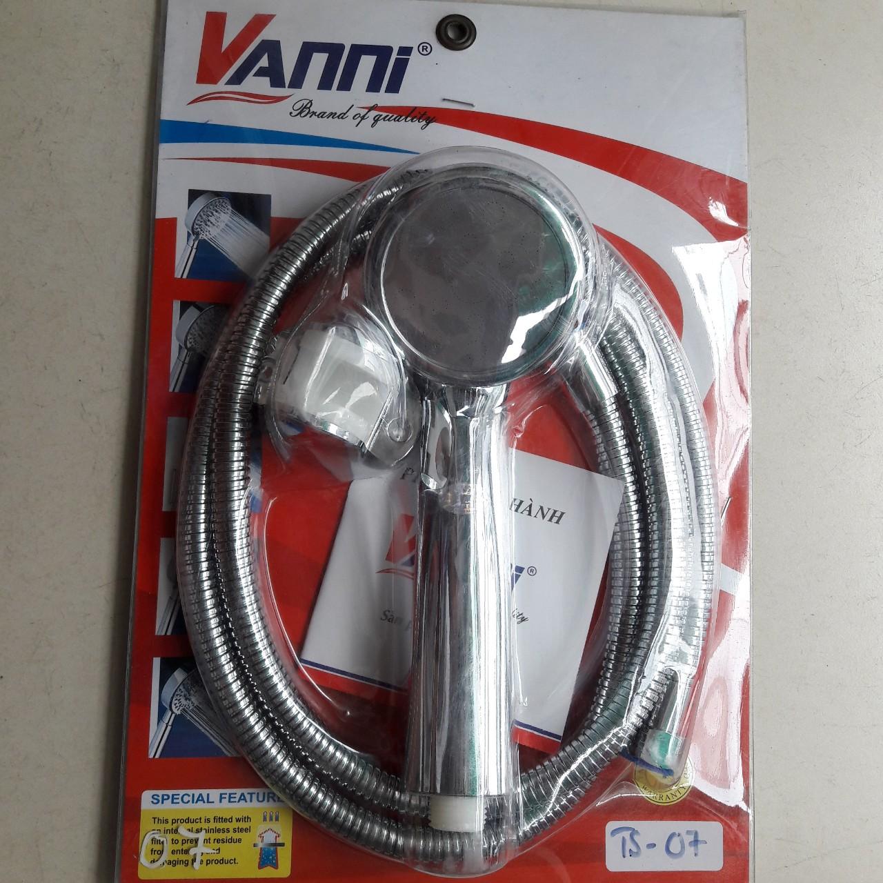 Vòi sen tắm tăng áp TS-07 VANNI