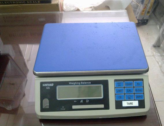 Cân đếm có tải trọng 3 kg  GS ALC3 SHINKO