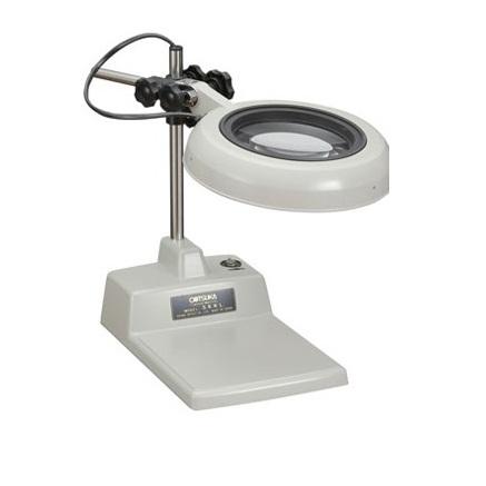 Kính lúp để bàn dùng đèn huỳnh quang có độ phóng đại 15 lần SKK-B 15X OTSUKA