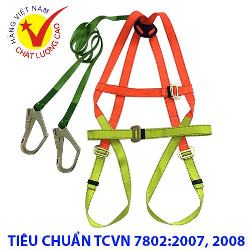 Dây đai an toàn toàn thân 2 móc lớn Tenma  DAT-VN-25 Vietnam