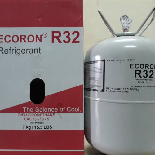 Gas lạnh 3kg  R32 Ecoron