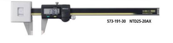 Thước cặp điện tử có lực đo thấp  573-191-30 MITUTOYO