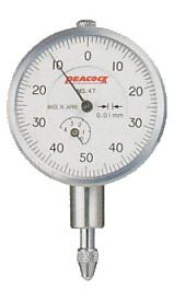 Đồng hồ so chân thẳng 4x0.01mm dial Gauge 47 PEACOCK