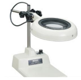 Kính lúp để bàn dùng đèn led, có độ phóng đại 3 lần lED Illuminated Light Scope ENVL-B 3X OTSUKA
