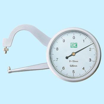 Thước cặp đồng hồ 0 - 10mm dial Caliper Gauge DCG-MA2 SK