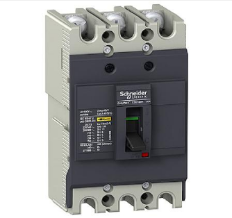 Cầu dao tự động MCCB 3P 100A  EZC100F3100 schneider-electric