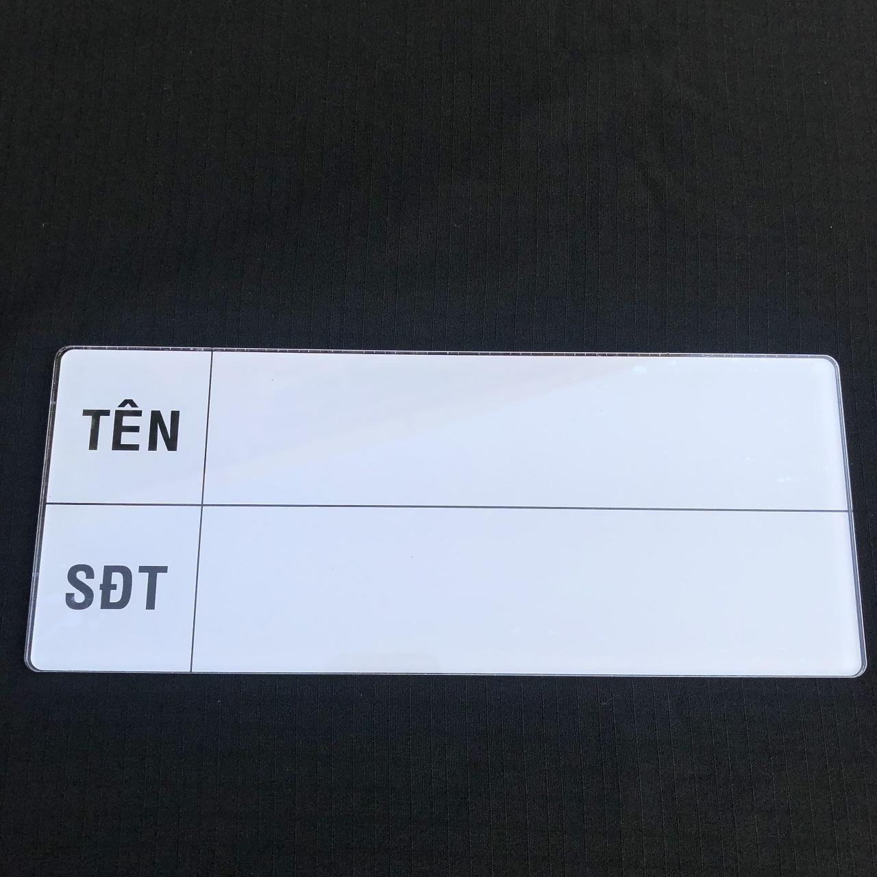Biển báo thông tin 26cm x 10.5cm  TGCN-42047 OEM-1856
