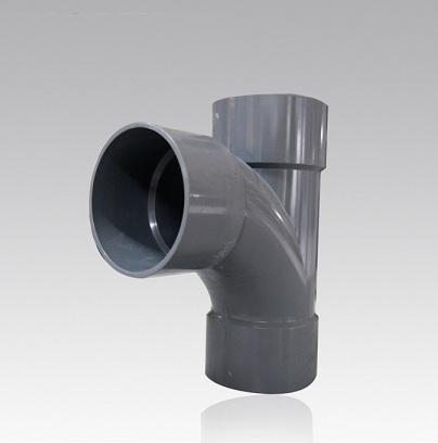 Nối chữ T cong phi 168 mỏng PVC  TGCN-42249 Nhựa Bình Minh