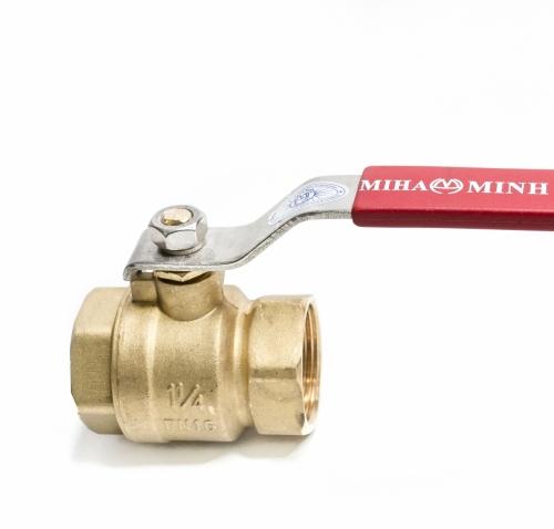 Van bi đồng tay gạt MIHA DN20 - PN16   TGCN-43900 MINHHOA
